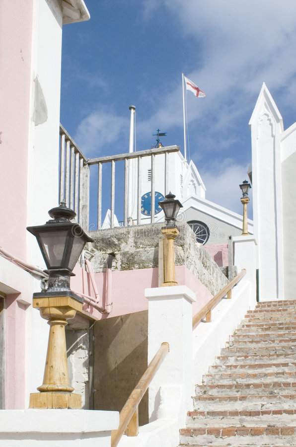 εκκλησία Peter s ST των Βερμούδω&n στοκ εικόνες με δικαίωμα ελεύθερης χρήσης
