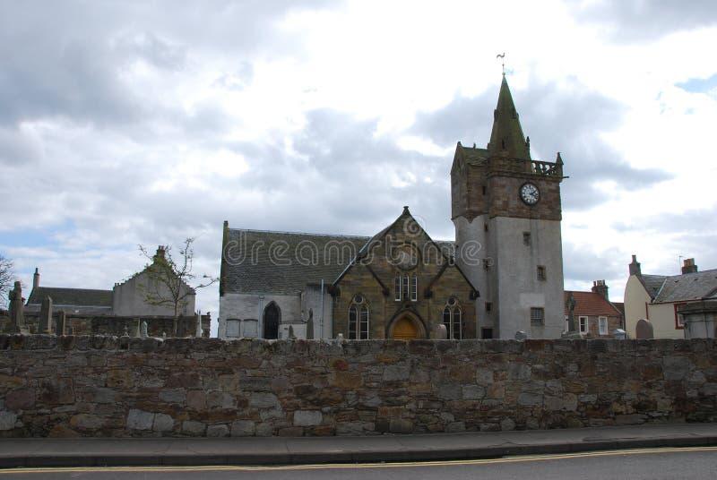 εκκλησία pittenweem στοκ εικόνα με δικαίωμα ελεύθερης χρήσης