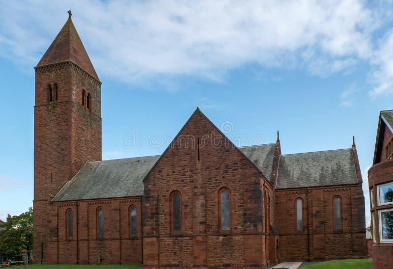 Εκκλησία Prestwick Ayrshire Σκωτία κοινοτήτων του Άγιου Βασίλη στοκ εικόνες