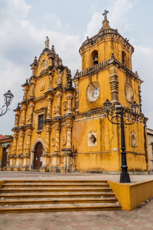Εκκλησία Recoleccion στο Leon, Nicarag στοκ φωτογραφίες με δικαίωμα ελεύθερης χρήσης