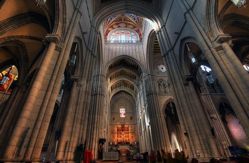 εκκλησία s almudena στοκ φωτογραφίες με δικαίωμα ελεύθερης χρήσης