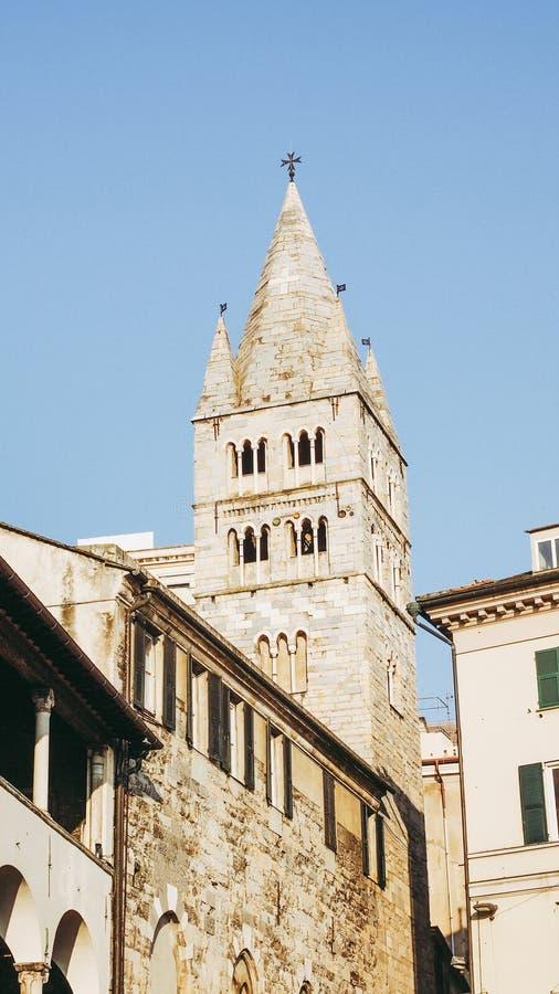 Εκκλησία SAN Giovanni στη Γένοβα στοκ εικόνα με δικαίωμα ελεύθερης χρήσης
