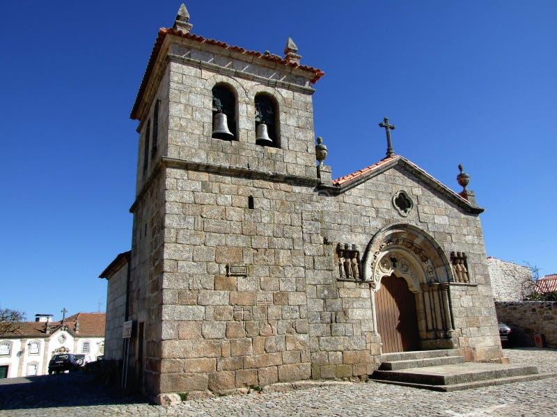 εκκλησία sernancelhe στοκ φωτογραφίες