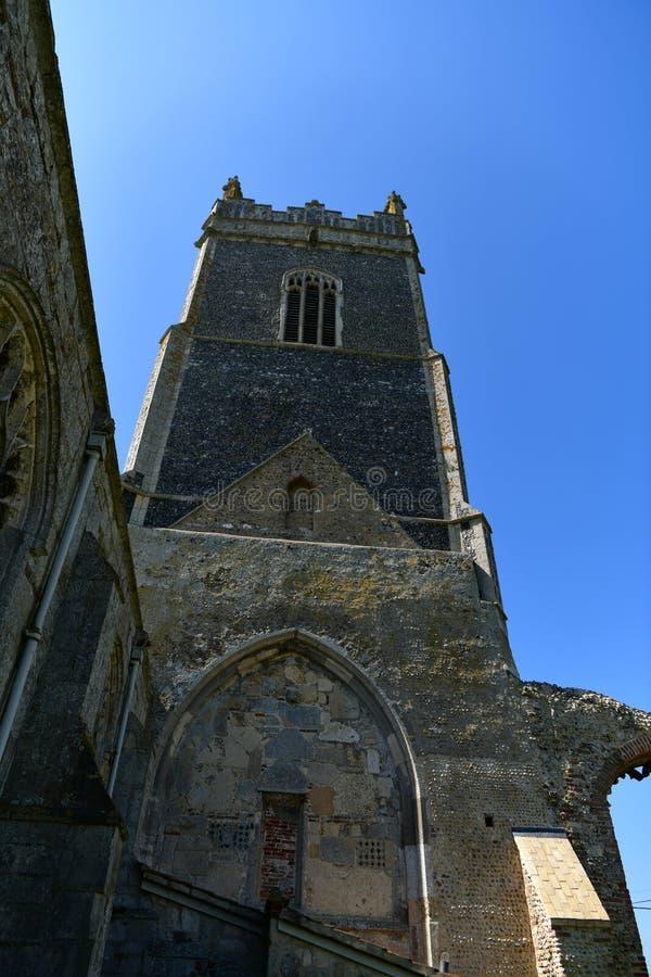 Εκκλησία ST Andrew, Walberswick UK καταστροφών, στοκ φωτογραφίες με δικαίωμα ελεύθερης χρήσης