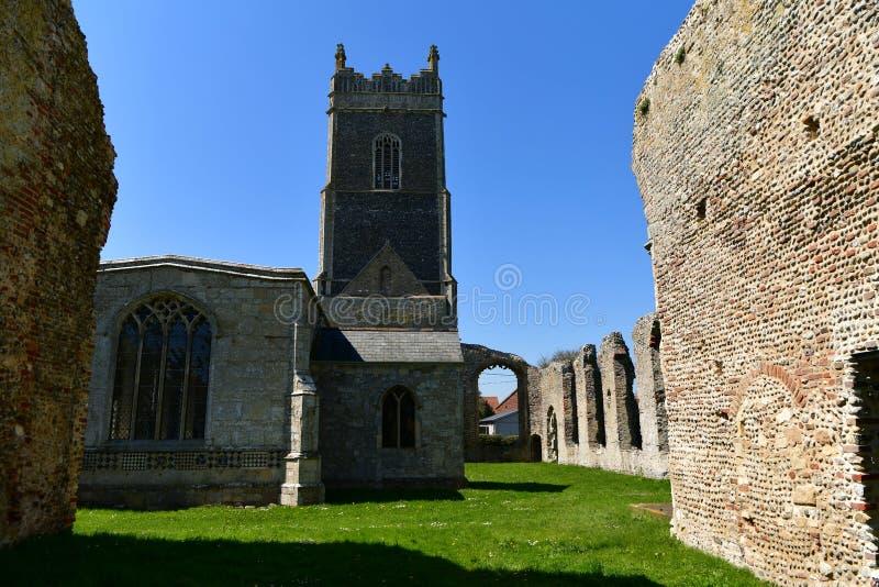 Εκκλησία ST Andrew, Walberswick UK καταστροφών, στοκ εικόνες με δικαίωμα ελεύθερης χρήσης