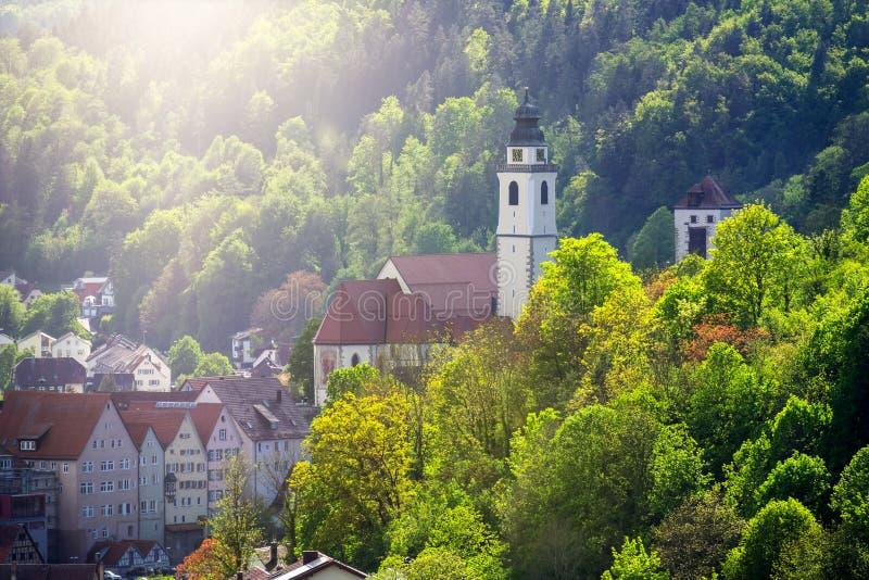 εκκλησία Sulz Γερμανία στοκ φωτογραφία