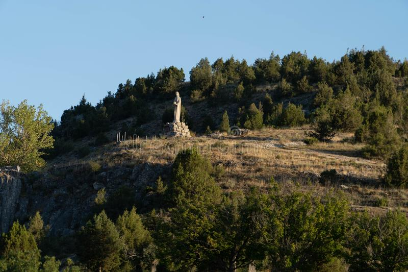 Εκκλησία Virgen del Camino στοκ εικόνα με δικαίωμα ελεύθερης χρήσης