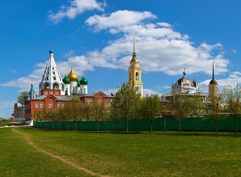 Εκκλησίες σε Kolomna Κρεμλίνο - την περιοχή της Μόσχας - Ρωσία στοκ φωτογραφίες με δικαίωμα ελεύθερης χρήσης