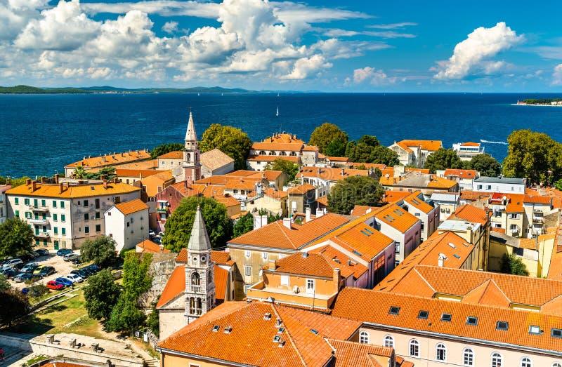 Εκκλησίες του ST Elijah και του ST Francis σε Zadar, Κροατία στοκ εικόνα με δικαίωμα ελεύθερης χρήσης