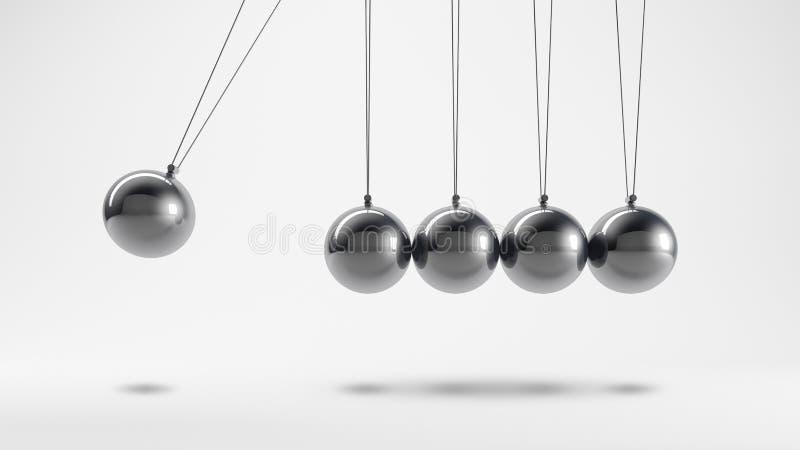 Εκκρεμές μετάλλων διανυσματική απεικόνιση