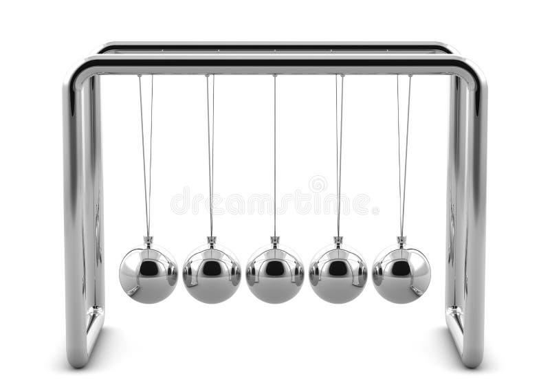 εκκρεμές Newton απεικόνιση αποθεμάτων