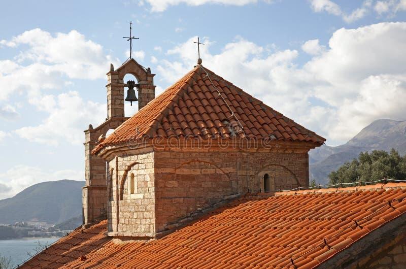 Εκκλησία Άγιου Βασίλη στο μοναστήρι Praskvica Μαυροβούνιο στοκ εικόνα με δικαίωμα ελεύθερης χρήσης