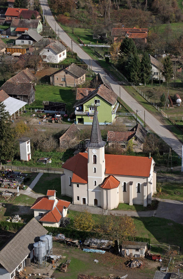 Εκκλησία Αγίου Roch σε Kratecko, Κροατία στοκ φωτογραφία με δικαίωμα ελεύθερης χρήσης