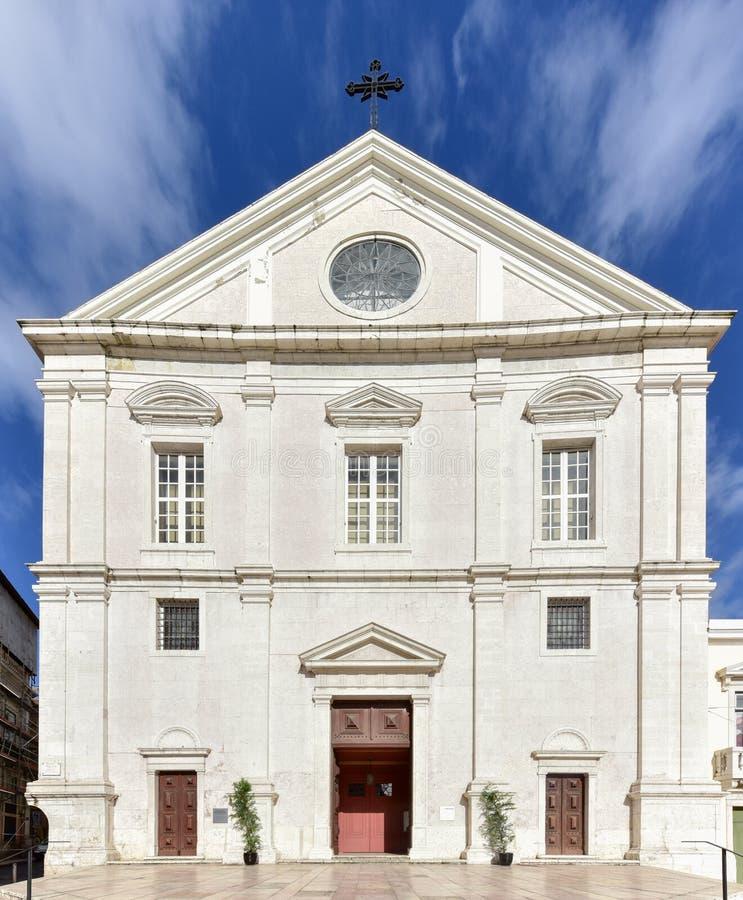 Εκκλησία Αγίου Roch - της Λισσαβώνας, Πορτογαλία στοκ εικόνα