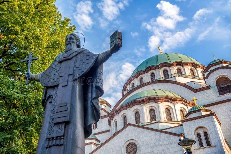 Εκκλησία Αγίου Sava belgrade serbia στοκ εικόνα