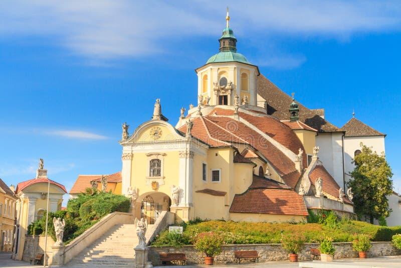 Εκκλησία βουνών Eisenstadt (εκκλησία Haydn σε Kalvarienberg), Burg στοκ εικόνες