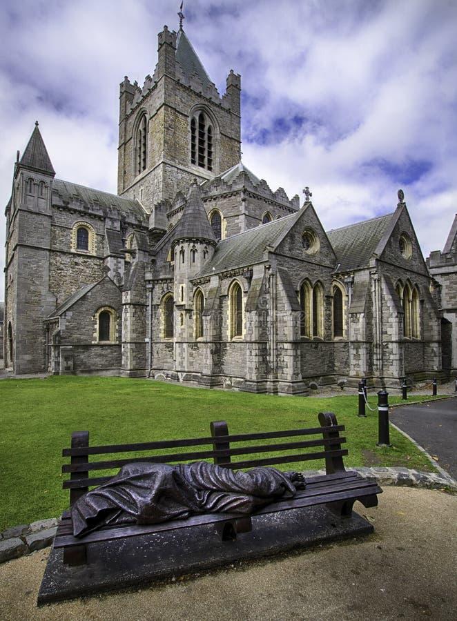 εκκλησία Δουβλίνο Χρισ& στοκ φωτογραφία με δικαίωμα ελεύθερης χρήσης