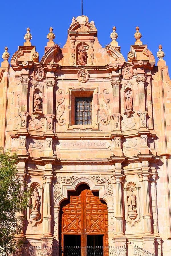 Εκκλησία ΙΙΙ του Domingo Santo στοκ εικόνες