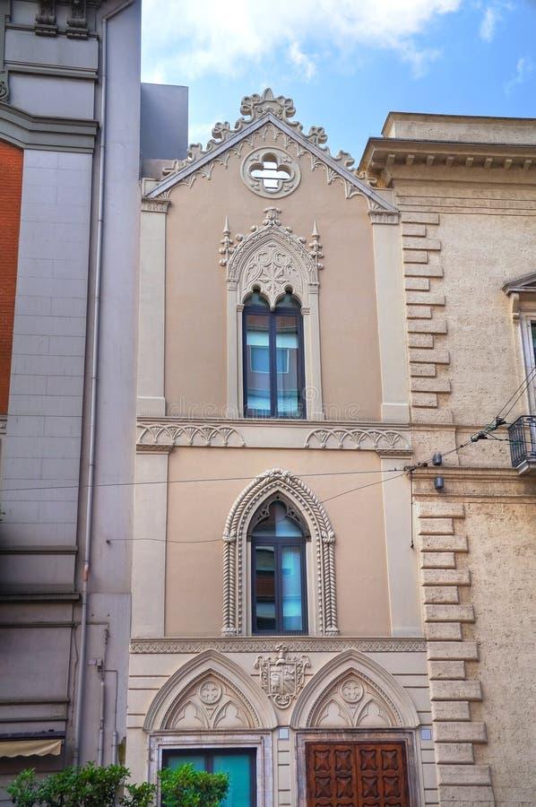 εκκλησία ιστορική _ Πούλια Ιταλία στοκ εικόνα