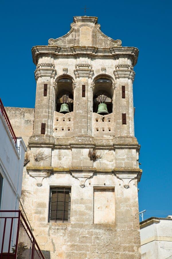 εκκλησία ιστορική Castellaneta Πούλια Ιταλία στοκ φωτογραφία