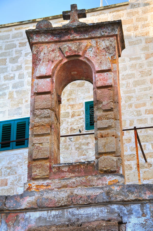 εκκλησία ιστορική Monopoli Πούλια Ιταλία στοκ εικόνες