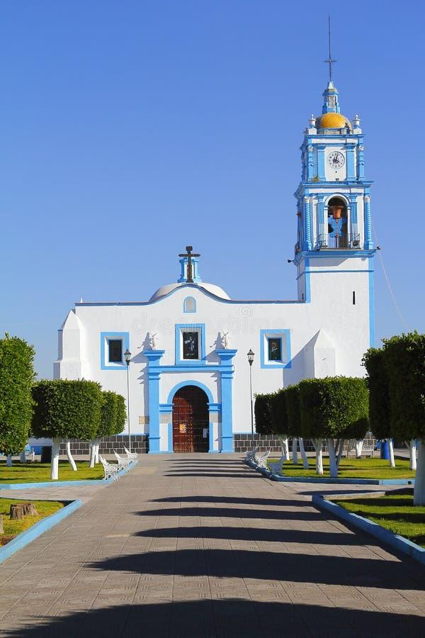 Εκκλησία Ι xixitla Παναγίας στοκ φωτογραφία με δικαίωμα ελεύθερης χρήσης