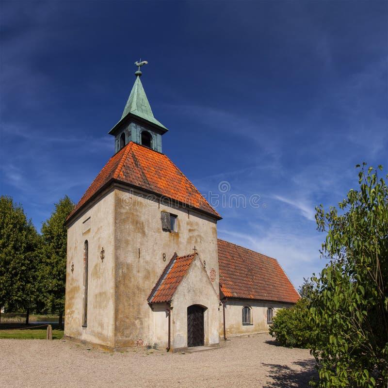 Εκκλησία κάστρων Loberod στοκ φωτογραφία με δικαίωμα ελεύθερης χρήσης