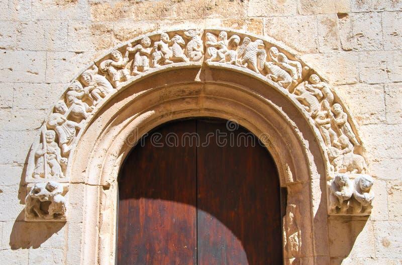 Εκκλησία καθεδρικών ναών Barletta Πούλια Ιταλία στοκ φωτογραφίες με δικαίωμα ελεύθερης χρήσης