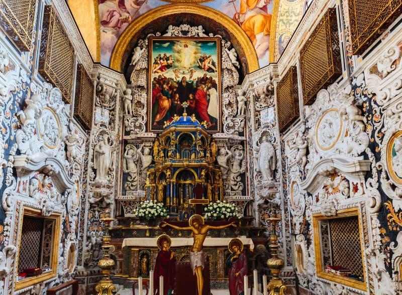 Εκκλησία Λα Martorana στο Παλέρμο, Ιταλία στοκ εικόνες με δικαίωμα ελεύθερης χρήσης