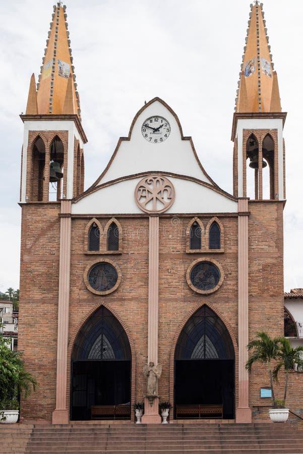 εκκλησία Μεξικό στοκ φωτογραφία με δικαίωμα ελεύθερης χρήσης