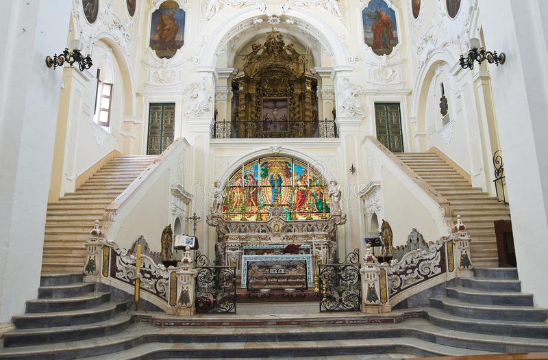 Εκκλησία μητέρων του ST Pietro. Putignano. Πούλια. Ιταλία. στοκ φωτογραφία με δικαίωμα ελεύθερης χρήσης
