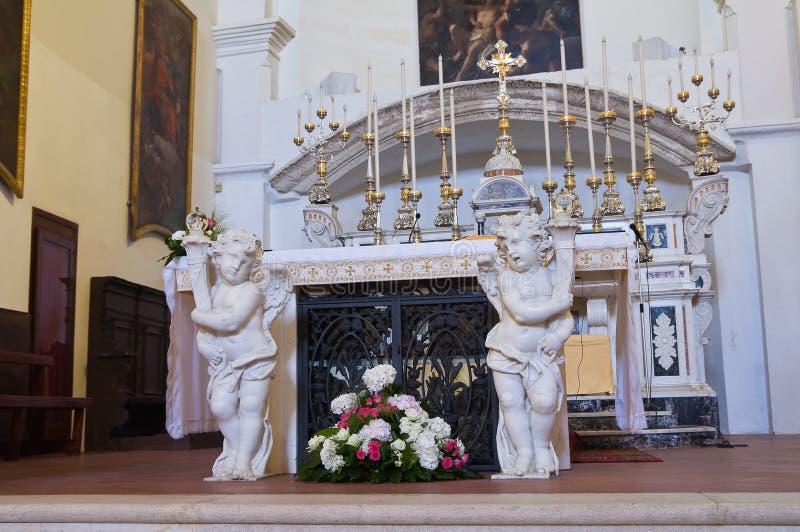 Εκκλησία μητέρων Laterza Πούλια Ιταλία στοκ εικόνες