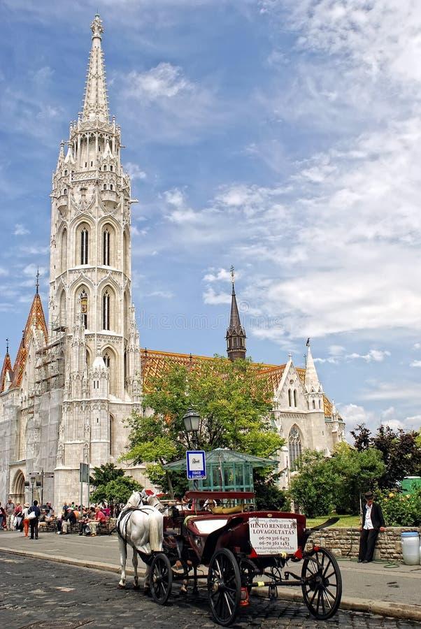 εκκλησία Ουγγαρία Matthias τη&sigma στοκ φωτογραφία με δικαίωμα ελεύθερης χρήσης