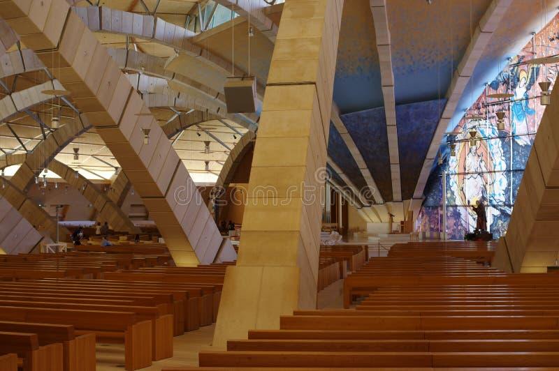 Εκκλησία προσκυνήματος του ST Padre Pio στοκ εικόνα με δικαίωμα ελεύθερης χρήσης