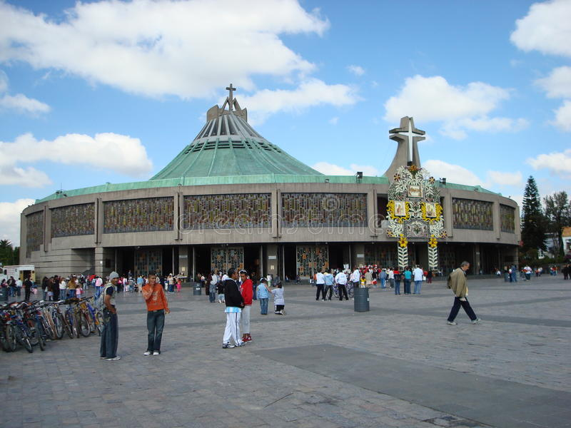 Εκκλησία Πόλη του Μεξικού Guadalupe Virgin του Μεξικού στοκ εικόνες
