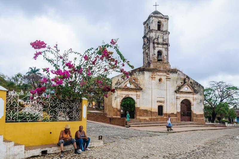 Εκκλησία Σάντα Άννα στο Τρινιδάδ, Κούβα στοκ φωτογραφία
