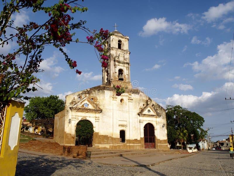 Εκκλησία Σάντα Άννα στο Τρινιδάδ στοκ εικόνες