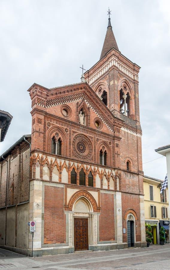 Εκκλησία Σάντα Μαρία σε Strada Monza στοκ φωτογραφίες