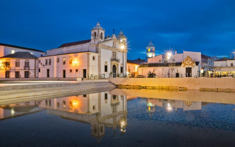 Εκκλησία Σάντα Μαρία στο Λάγκος στοκ εικόνες