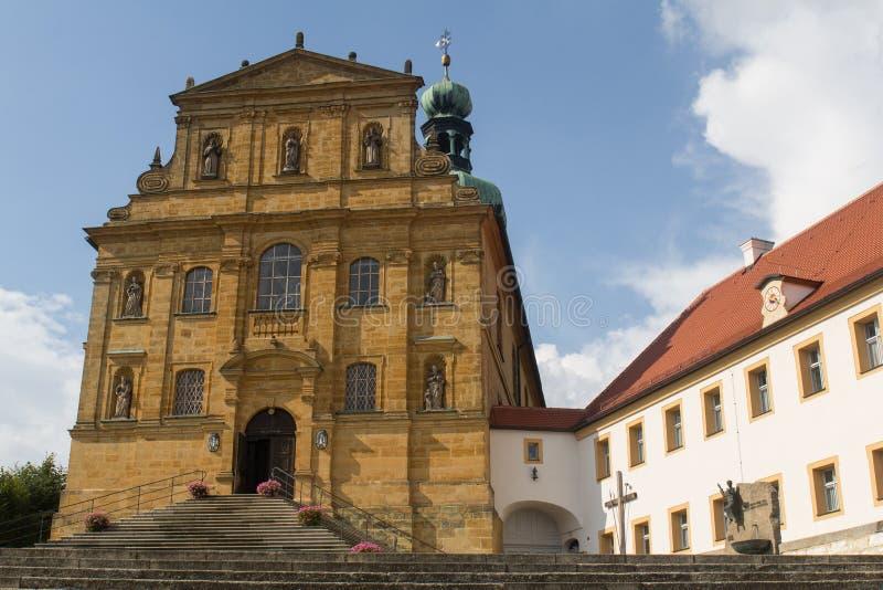 Εκκλησία σε Amberg στοκ εικόνες