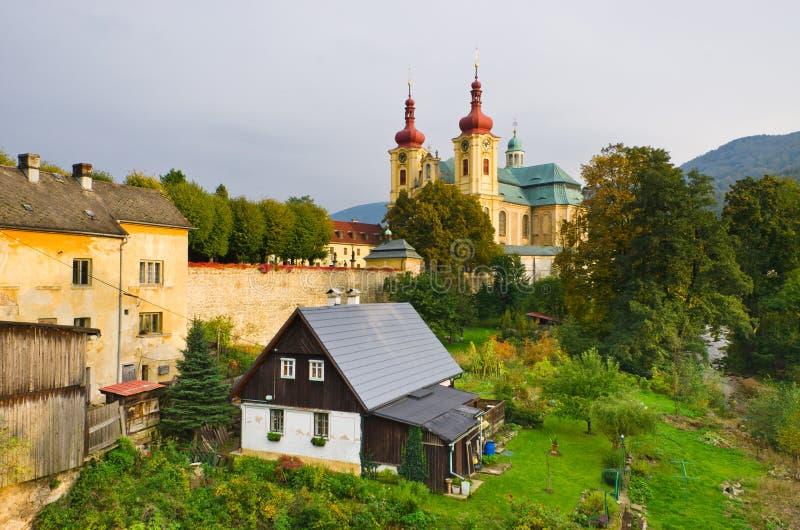 Εκκλησία σε Hejnice, Δημοκρατία της Τσεχίας στοκ εικόνες