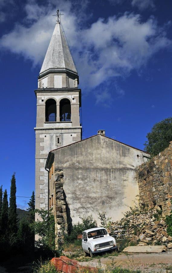 Εκκλησία σε Osp στοκ εικόνα με δικαίωμα ελεύθερης χρήσης