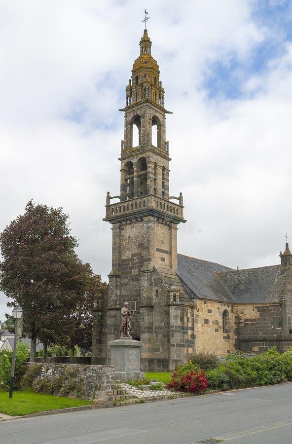 Εκκλησία σε Rumengol στοκ εικόνα με δικαίωμα ελεύθερης χρήσης