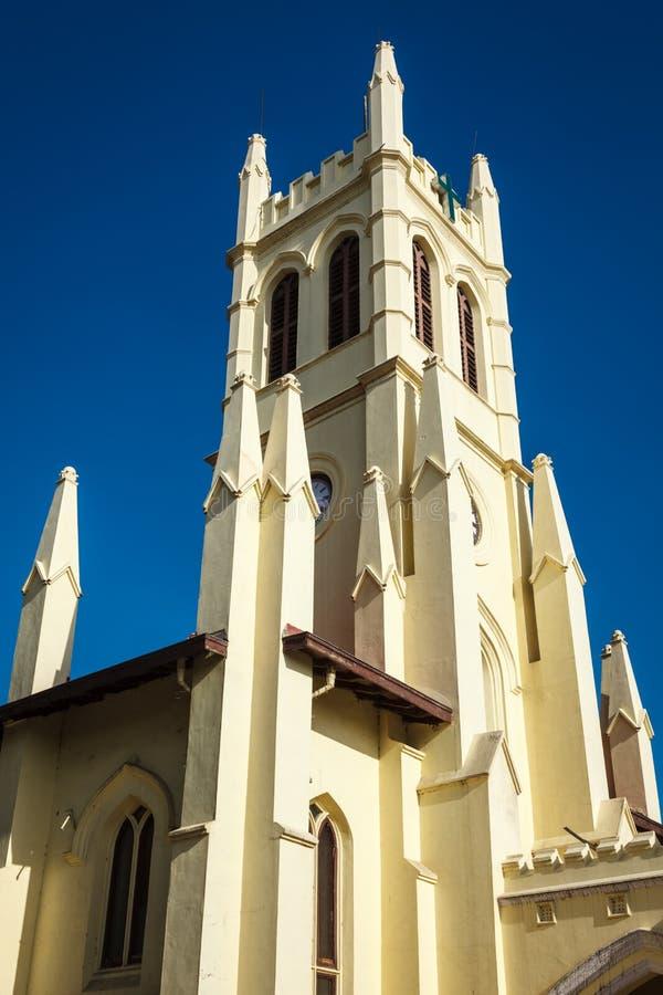 Εκκλησία σε Shimla στοκ φωτογραφία
