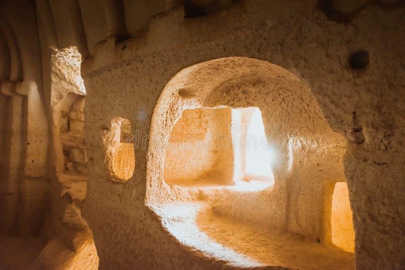 Εκκλησία σπηλιών σε Cappadocia, Τουρκία στοκ φωτογραφία με δικαίωμα ελεύθερης χρήσης