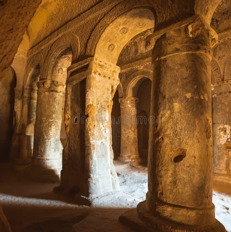 Εκκλησία σπηλιών σε Selime Cappadocia Τουρκία στοκ φωτογραφίες με δικαίωμα ελεύθερης χρήσης