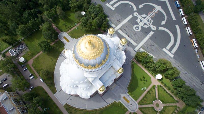 Εκκλησία στην Άγιος-Πετρούπολη (Ρωσία) στοκ φωτογραφίες