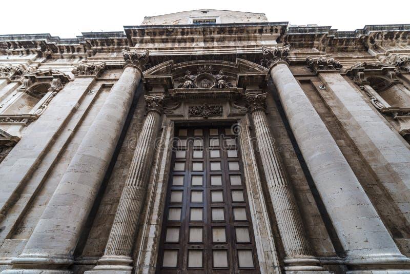Εκκλησία στις Συρακούσες στοκ εικόνα με δικαίωμα ελεύθερης χρήσης