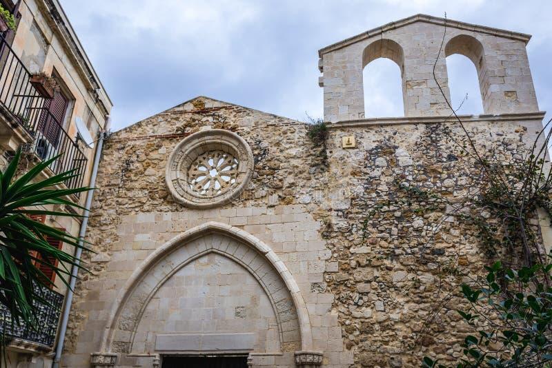 Εκκλησία στις Συρακούσες στοκ εικόνες