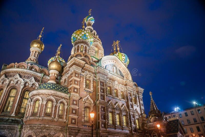 Εκκλησία στο αίμα σε Άγιο Πετρούπολη στοκ φωτογραφία με δικαίωμα ελεύθερης χρήσης